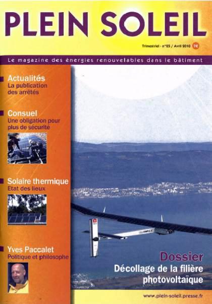 Plein Soleil - Magazine N° 25